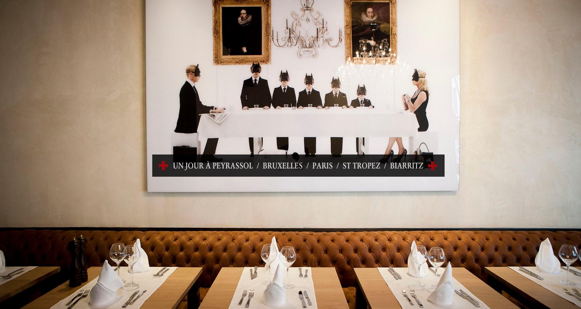 Un jour peyrassol les restaurants de la commanderie de peyrassol - La commanderie de peyrassol ...